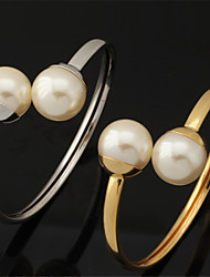 U7 plaqué or 18k platine bracelet manchette