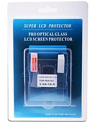 vidrio óptico profesional Protector de pantalla especial para pentex-5 k / cámara réflex digital K-7 / og