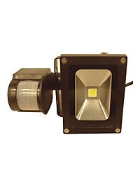 Sensor Floodlight 20w Waterproof White Warm White LED Aluminum AC85-265V