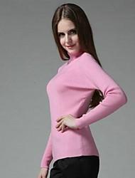 Frauen Kaschmir-Rollkragenpullover