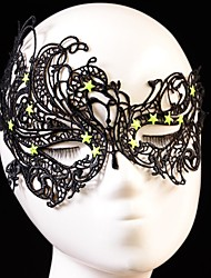Hot sales Black Sexy Lady Lace Mask Cutout Eye Mask for Masquerade Party Fancy Dress Costume
