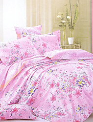 Sweet-natured Home®4-Piece Modern Cotton Printing Thickening Full Duvet Cover Set