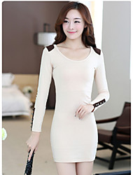 Sexylady New Slim Long Sleeve Dress
