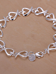 vilin Frauen Silber Armband Seetang