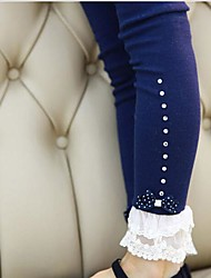 Girl's Fashion Flower Leggings  Lovely Princess Fall Leggings