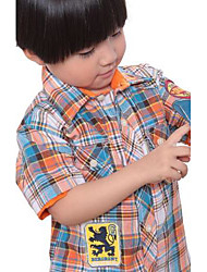 Boy's Polyester Shirt,Summer Solid