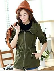 women'sleisure trincheira coatouterwear