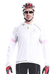 MYSENLAN Men's Breathable Material  Long Sleeve Cycling Raincoat
