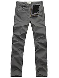 Lesmart Men's Slim Pants Black / White - MDMK3202