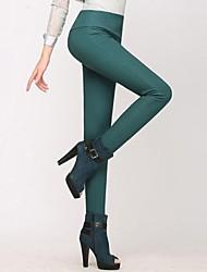 Women's Cashmere High Waist Stretchy Pencil Pants