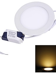 Lâmpada de Teto 9 W 620 LM 3000~3500 K Branco Quente 45 AC 85-265 V Encaixe Embutido