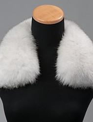 unisex trendigen Blaufuchs echte echte Fuchspelzkragen Schal-Verpackungs-