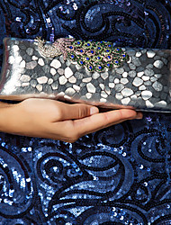 Gorgeous PU With Rhinestone Phoenix Clutches/Evening Handbags(More Colors)