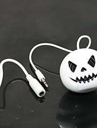Mini altavoz del globo de la música creativa pelota música lindo 3.5mm + moda usb para mp3 mp4 PC de la tableta del teléfono móvil