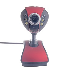 JW-01 8.0MP webcam HD con visione notturna / mic
