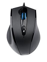 shuangfeiyan n-810fx gaming velocità regolabile fissato il mouse usb 800/1000/1200/1600 dpi