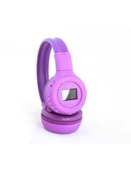 n65c zealot® colorido multifuncional cartão tf&fm fone de ouvido estéreo