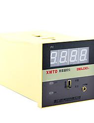 Relay Output Digital Temperature Controller 250V 10AD ELIXI ELECTRIC XMTD-2001 K0-400℃