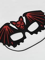 diable rouge et noir masque pour les yeux de partie de Halloween