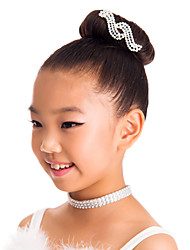 Performance/Dancewear Spandex Rhinestone Headpeice
