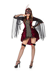 Performance Women's Faerie Costume Dress With Mask