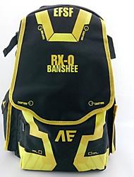 Mobile Suit Gundam UC rx-o banshee preto&amarelo ombros cosplay saco