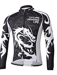 CHEJI Men's Cycling Tops / Jerseys Long Sleeve Bike Spring / Summer / Autumn / WinterThermal / Warm / Ultraviolet Resistant / Quick Dry /