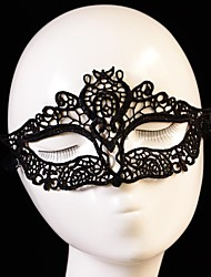 Wedding Décor Hot Sales Black Sexy Lady Lace Mask for Masquerade Party Fancy Dress Costume