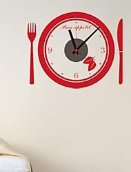 zooyoo® электронный хронометрист батареи DIY часы круглой формы стена с черным указателя стикер стены домашнего декора для комнаты