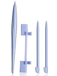 4 in 1 weiße Kunststoff-Stifte-Touchscreen-Stift für Nintendo Wii U Gamepad