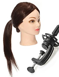 Hair Salon Female Mannequin Head With Long Straight Wigs