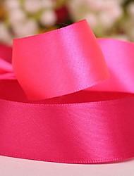Einfarbig 1 Zoll Satin Ribbon- 50 Meter pro Rolle (mehr Farben)