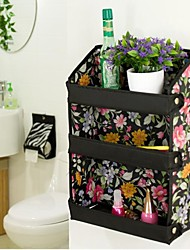 Multifunctional Three Layer Oxford Cloth Clutter of Storage Shelf