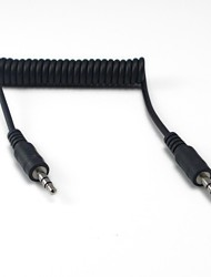 LWM™ High Quality 3.5mm Stereo Audio Interface Male to Male Spring Cable Cord 3Ft for AUX