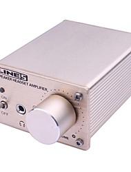 amplificador de potência amplificador de pré-amplificador de fone de ouvido fone de ouvido estéreo computador amp portátil headset dispenser duplo