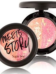 sugarbox blush maquillage cuit fard en crème de palette de fard à joues