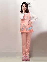 Maternity's Fashion Leisure Lovely Printing Breastfeeding Pajamas Clothing Set