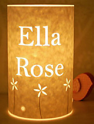 lámpara de pie 1 luz modelo floral pantalla de pergamino 220v retro