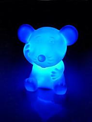 rato rotocast noite luz que muda de cor