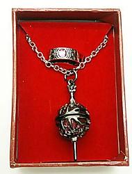Puella Magi Madoka Magica Madoka Kaname Cosplay Zubehör (Ring&Halskette)