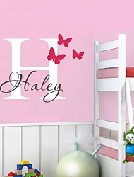 JiuBai® Personalized Child Room Wall Sticker Wall Decal, Please Offer A Name