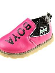 zapatos para niños consuelan talón plano de mocasines de cuero más colores disponibles