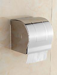 """Sostenedor de papel higiénico cerrada de pared de acero inoxidable, 5 """"x 5"""" x 5 """""""