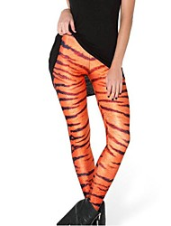 spandex tigre des rayures des femmes pinkqueen® imprimés leggings