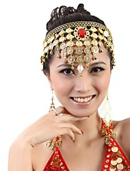 Dance Accessories Jewelry Women's Metal Coins / Tassel(s) Christmas / Halloween 56cm