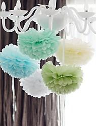 1 Stk 8 '' Seidenpapier Pom Poms Bausätze dekorative Blume Bälle für Urlaub, Geburtstag, Hochzeit Baby-Dusche Partei