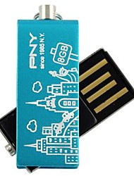 PNY Attaché schönen Paris Eiffelturm 8 GB USB-Flash-Laufwerk