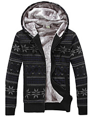 MEN - Giacche e cappotti - Informale / Lavoro Felpa con cappuccio - Maniche lunghe Punto roma / Viscosa