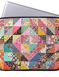 "Elonbo Bohemian Diamond Flower Tablet Neoprene Protective Sleeve Case for 11"" Macbook Air Dell Acer HP"