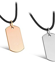 Contracted Tungsten Steel Plating Magnet Anti-radiation Men Care Necklace